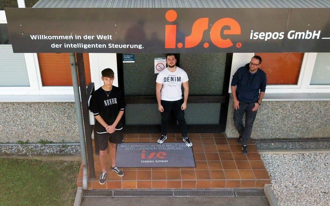 Die isepos GmbH begrüßt drei neue Auszubildende!